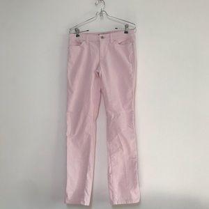Tommy Hilfiger Corduroy Slim Pants Baby Pink 2